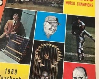 1969 Detroit Tigers Yearbook