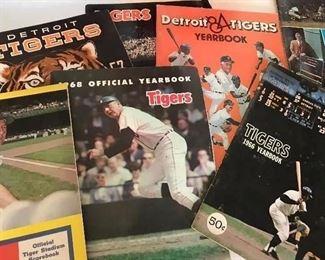 Detroit Tigers Memorabilia 1960s & 70s