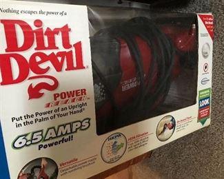 Dirt Devil Power Reach Vacuum