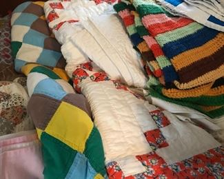 Vintage Quilts and Afghans