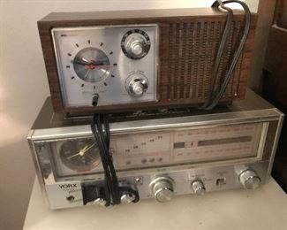 Vintage Clock Radios