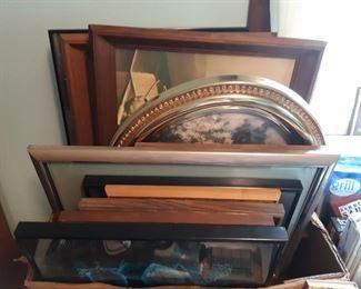 Framed prints and frames