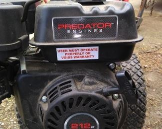 Troy-Bilt predator rototiller