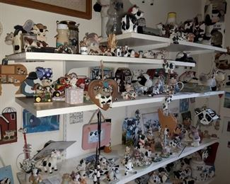 Large cow & bear collection