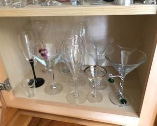 Fabulous Collection of Martini Glasses