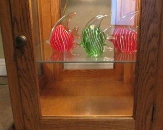 Decorative glass fish - fun!