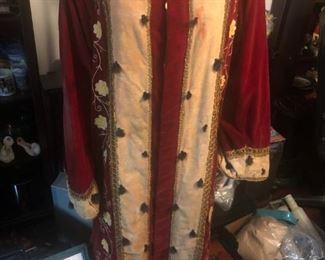 "Oddfellows Lodge ""Noble Grand"" ceremonial Robe"