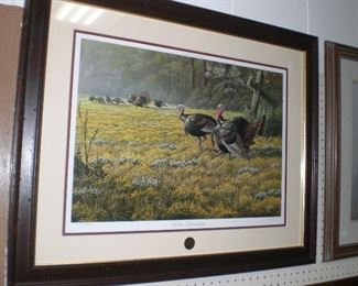 "National Wild Turkey Federation ""Golden Opportunity"" by W. Goebel #1373/2300"