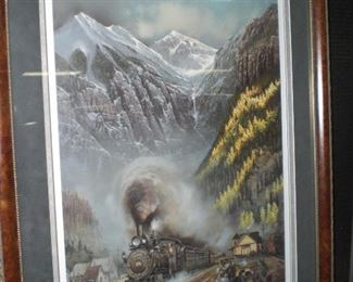 """Telluride Homecoming"" by Ted Blaylock #112/950"
