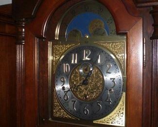 detail of Sligh clock