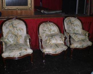 wal parlor chairs 1860