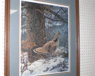 wildlife signed prints