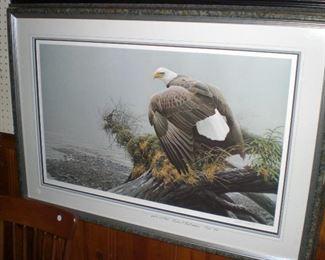wildlife artist proofs