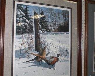 signed wildlife prints