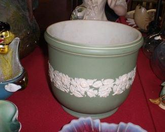 lg. wedgewood jasperware cache pot