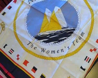 1985 Women's America's Cup Sailing Scarf
