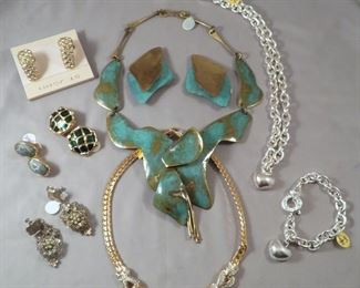 Stunning Selection of Vintage and Studio Jewelry - THERE ARE LITERALLY MOVING BOXES FULL OF JEWELRY!