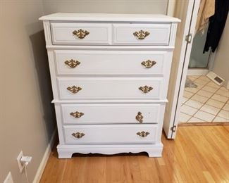 Refinished Bassett Furniture Dresser