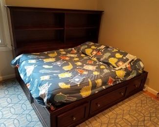 Full Size Captain's Bed Frame