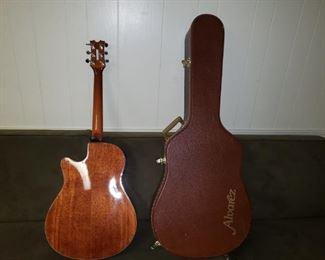 Dean Electric Acoustic Guitar with Alvarez Case