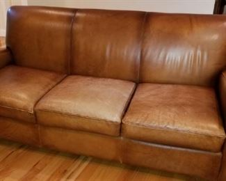 Leather Sofa by Barca Lounger for Wayne Phillip's Furniture