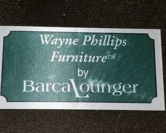 Barca Lounger Label