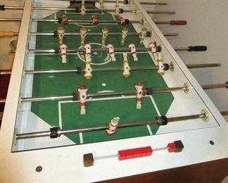 Vintage Champion Foosball Soccer Arcade Game