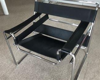 Chrome Modern Chair $ 320.00