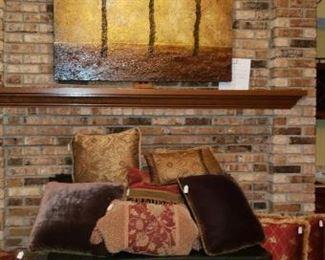 pillow wall art