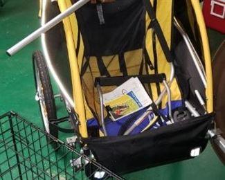 tag along stroller