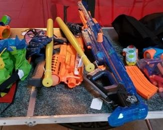 pool toys air guns