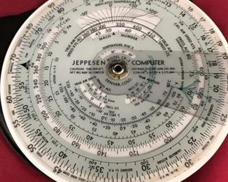 Vintage Jeppesen Flight Computer