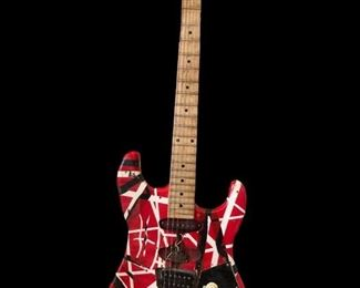 "Frankenstrat guitar--Eddie Van Halen ""Fair Warning Tour"""
