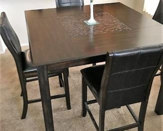 Another Dining table. Square dining room table set.