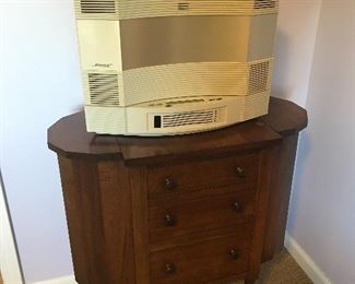 $225***Bose Acoustic Wave Music System-CD3000 AM/FM CD Player White 1997
