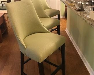$150 Each***Dania upholstered Counter Stools Purchased $200 each and recovered
