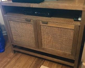 Crate and Barrel TV Console Cabinet