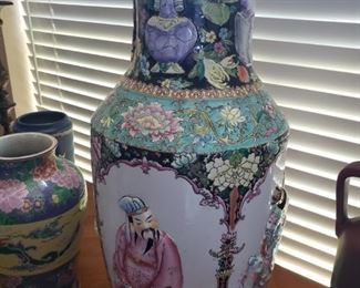 Huge Signed Chinese Vase