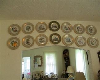 Lenox bird plates