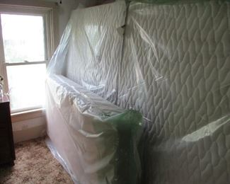 Brand new  2 double sets and a single mattress