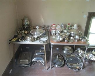 I told you there was silver plate