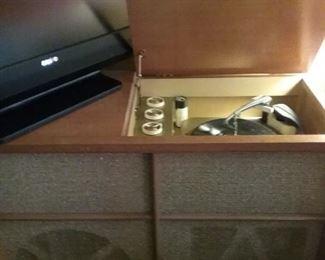 Vintage Philco Console Record Player