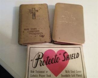 Vintage Metal Cover Prayer Book