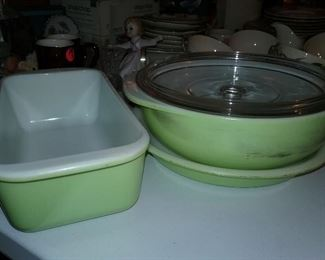 Vintage Refrigerator Containers