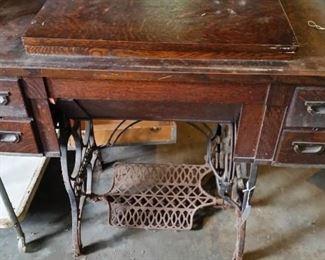 Vintage Eldredge Sewing Machine