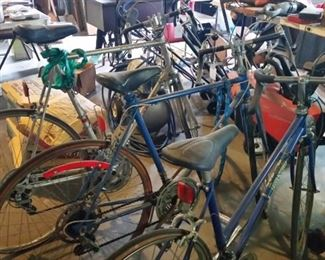3 Vintage Bikes