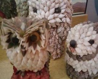 Vintage Shell Animals