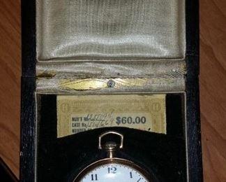 Vintage Howard Pocket Watch