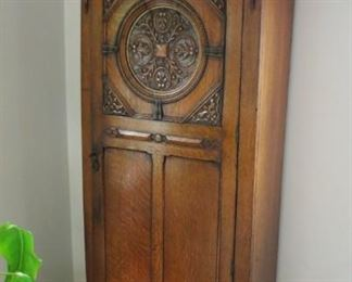 Beautiful tall, ornate wardrobe