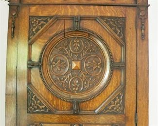 Beautiful tall ornate wardrobe